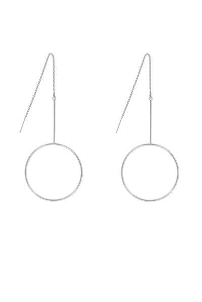 five and two diego threader earrings