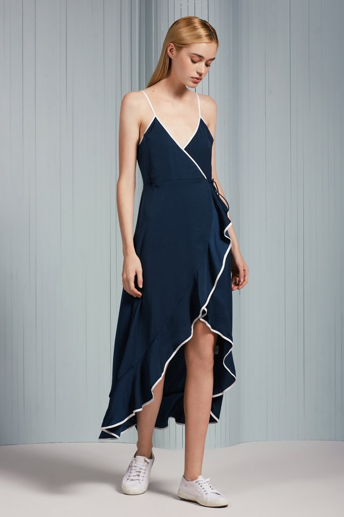 Juliette Maxi Wrap Dress