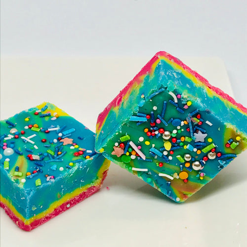 Bubblegum Rainbow Fudge