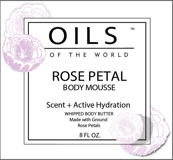 Rose Petal Body Mousse