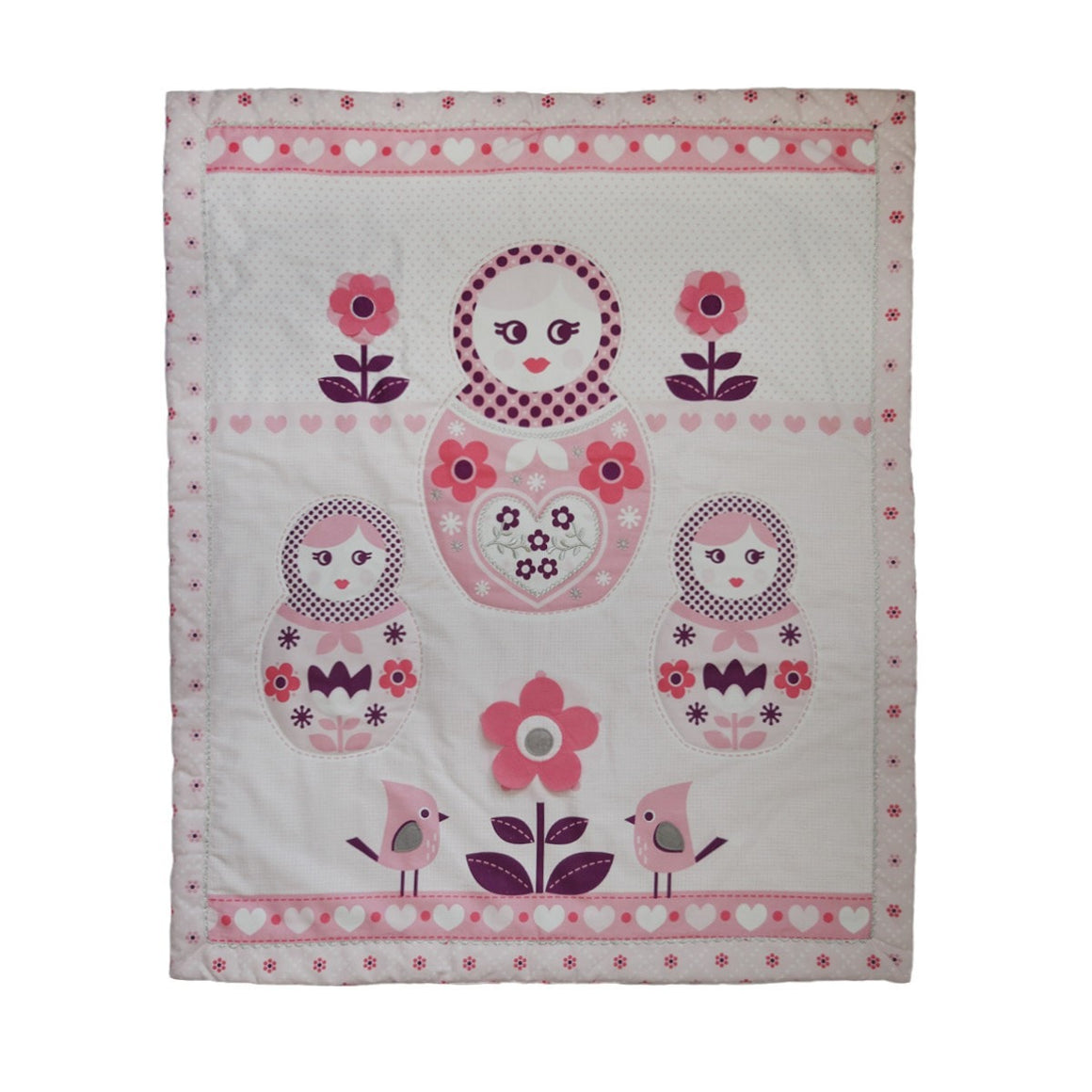 Adele All Seasons Cot Quilt
