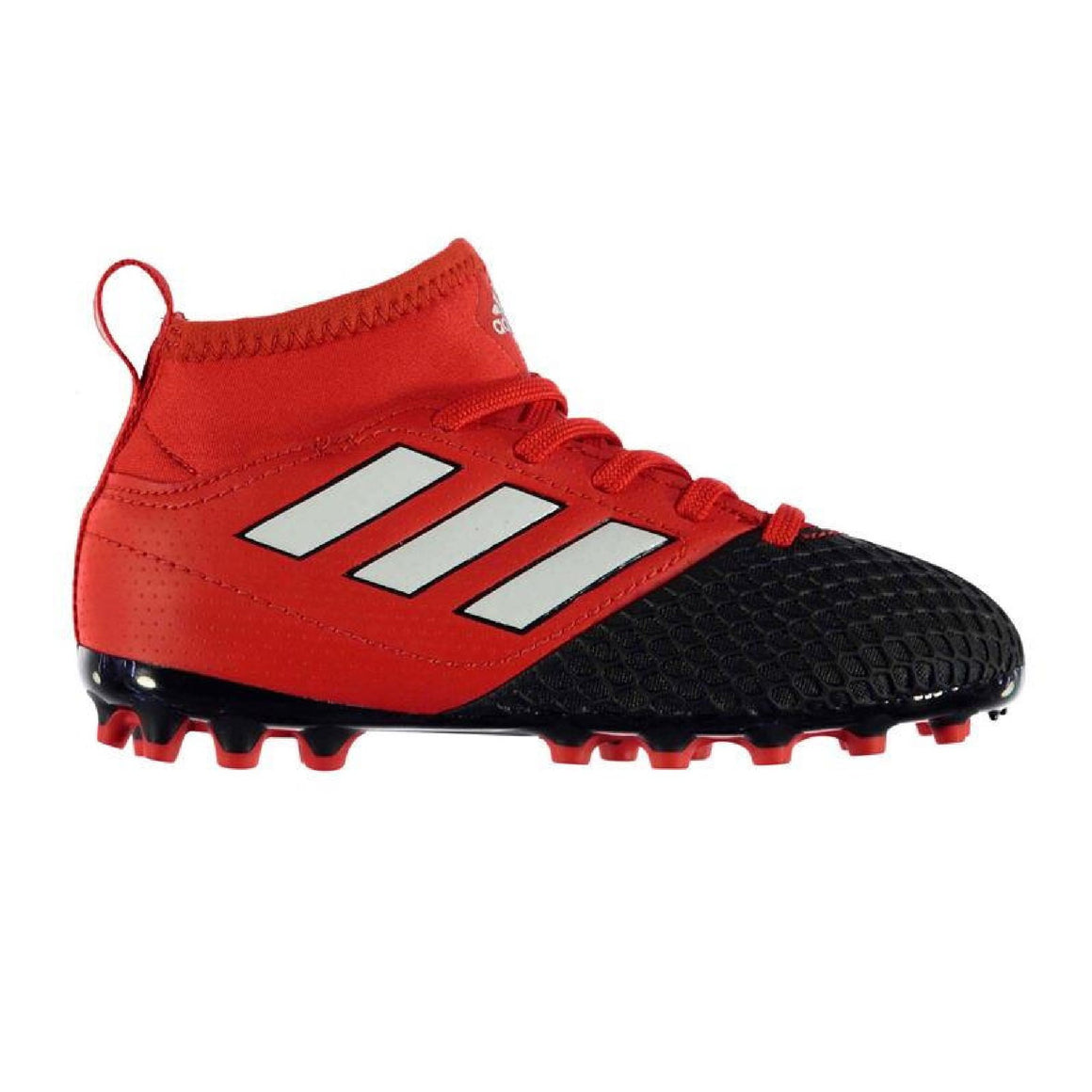 Kids adidas ACE 17.3 Football Shoe, Red/Black