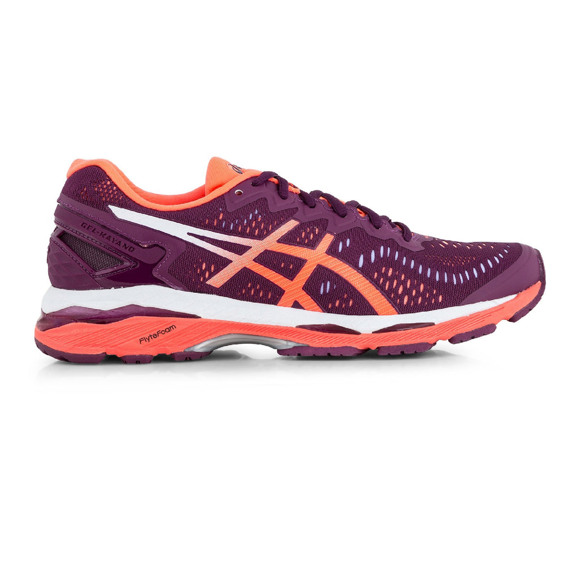 Ladies Asics Gel Kayano 23, Dark Purple