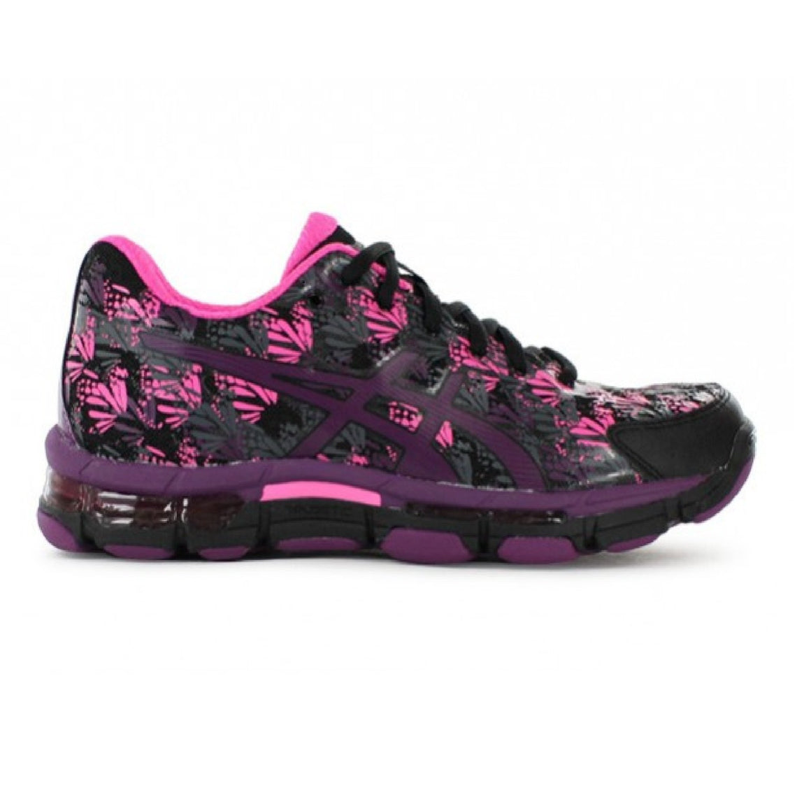 Ladies Asics Gel Netburner Professional 13, Black/Prune