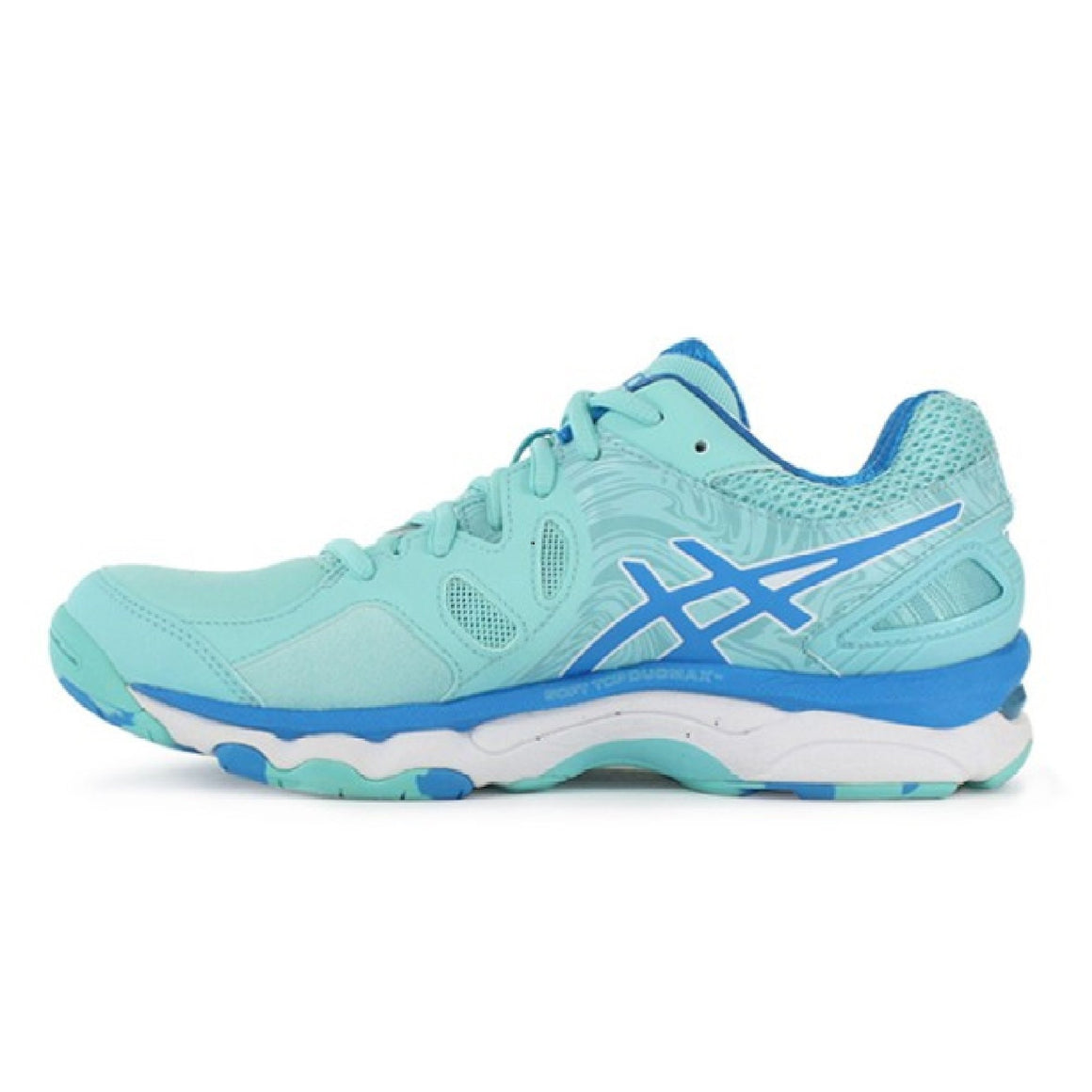 Ladies Asics Gel Netburner Super 7 Aqua