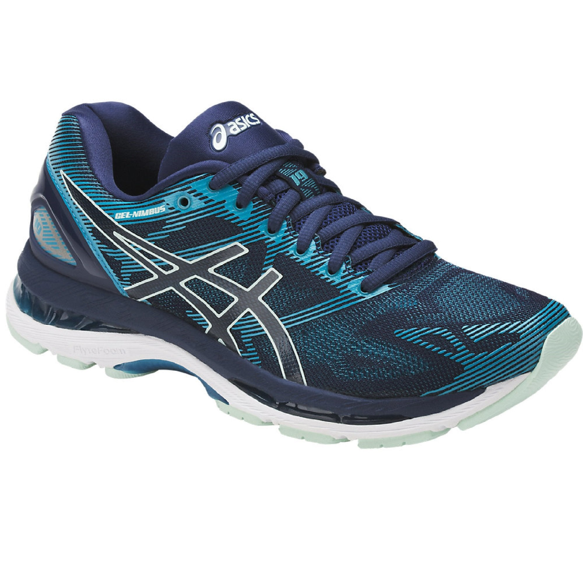 asics gel ladies running shoes