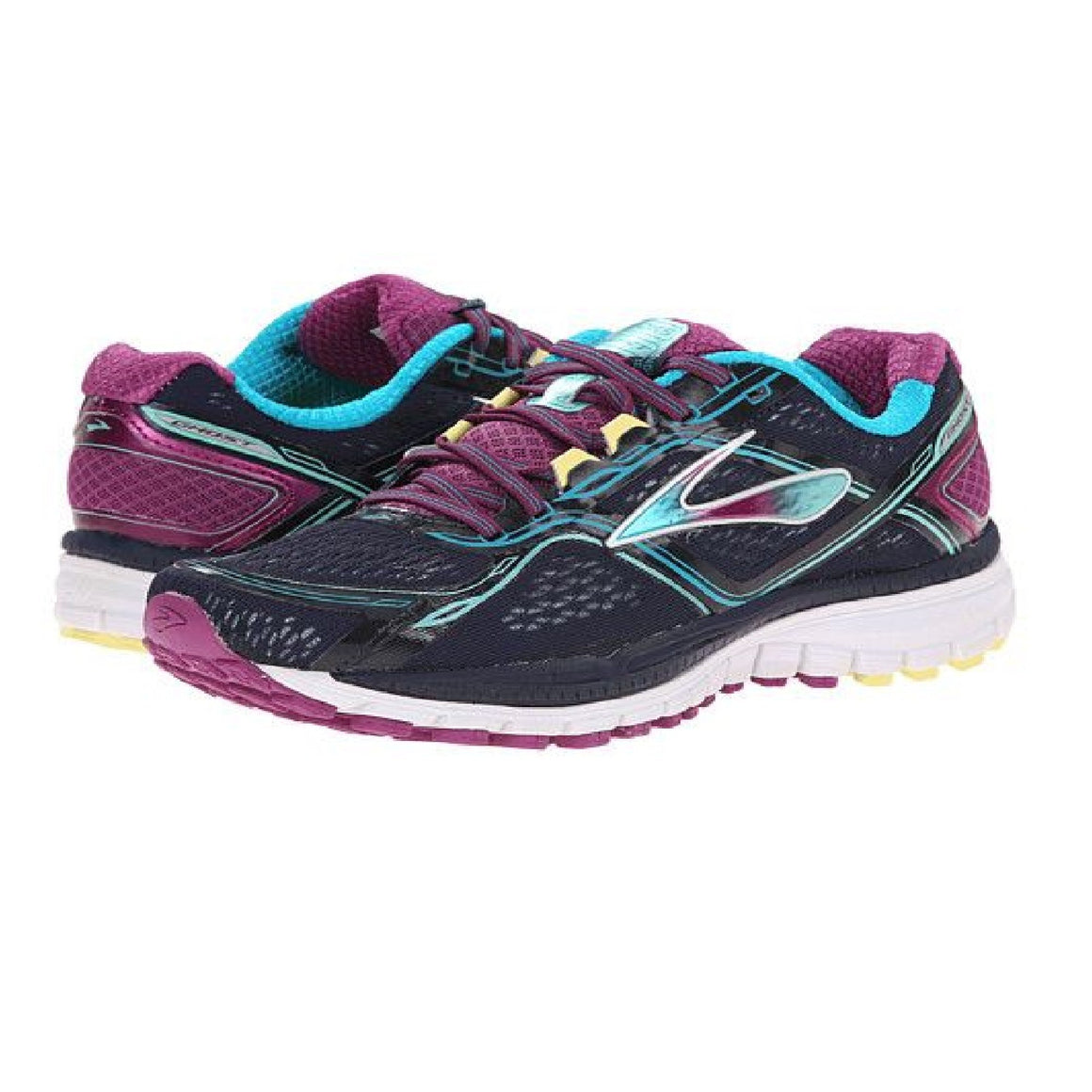 Ladies Brooks Ghost 8 Running Shoe, Peacoat