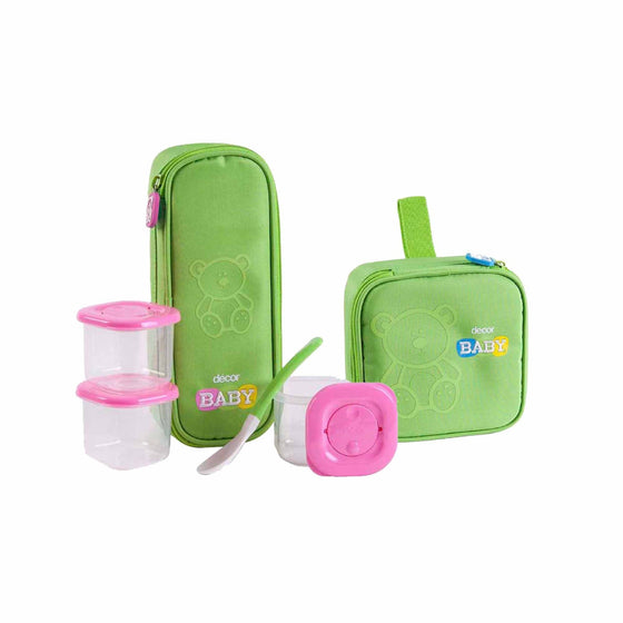 Decor Baby Feeding Set Bundle, Various Colours