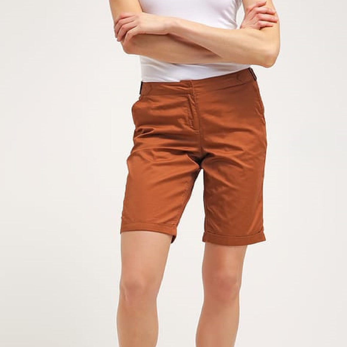 Ladies Knee Shorts - Copper