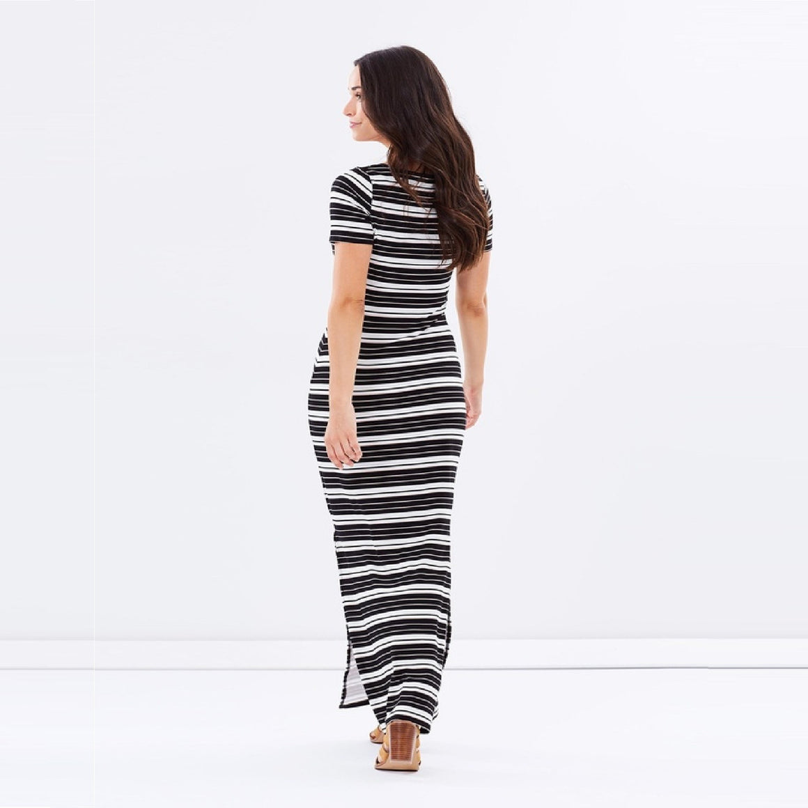Ladies Split Maxi Dress