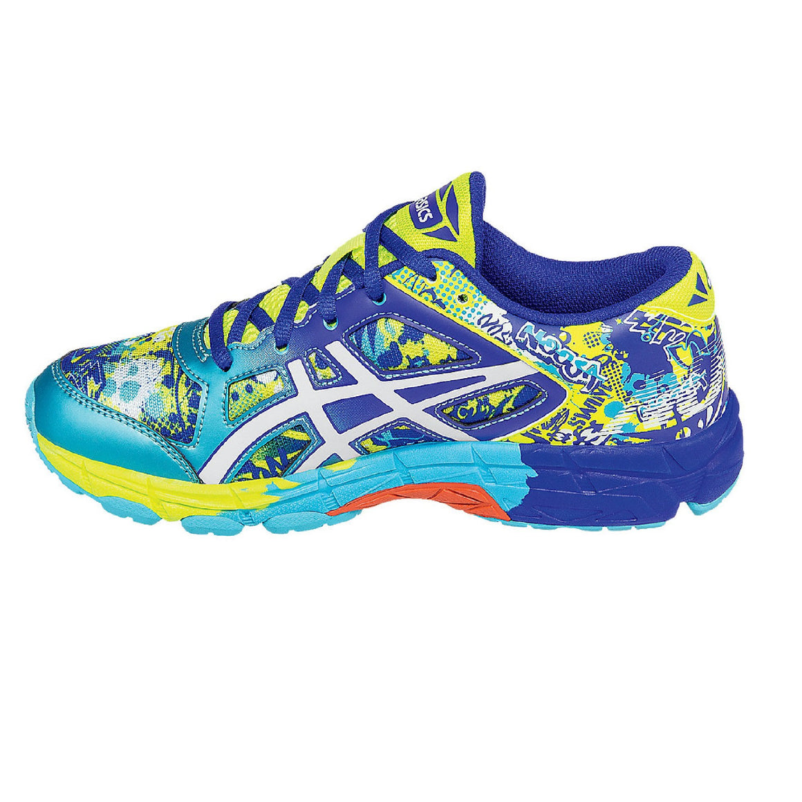 Kids Asics Gel Noosa TRI 11 GS Running Shoe, Scuba Blue