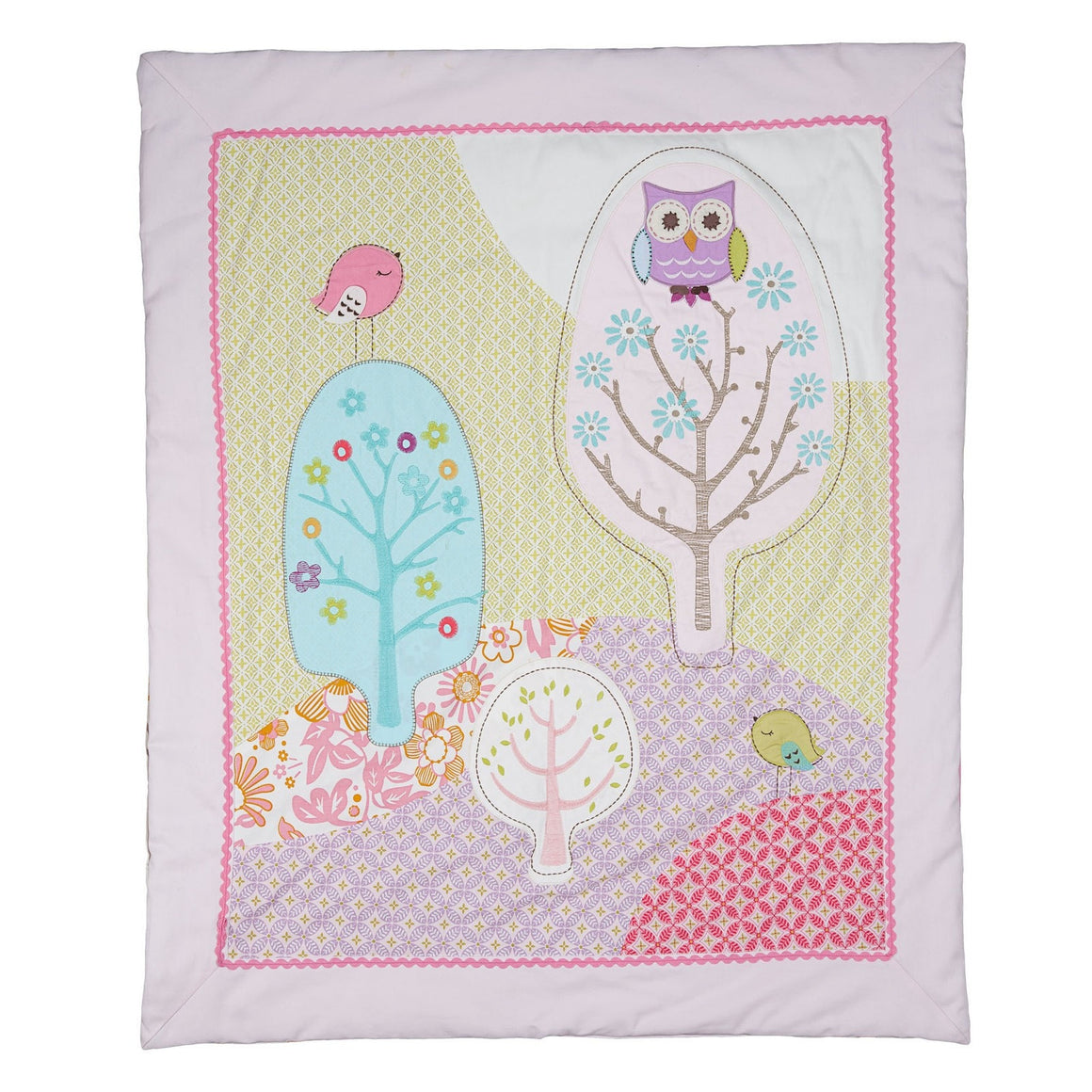 Poppy Seed All Seasons Cot Quilt