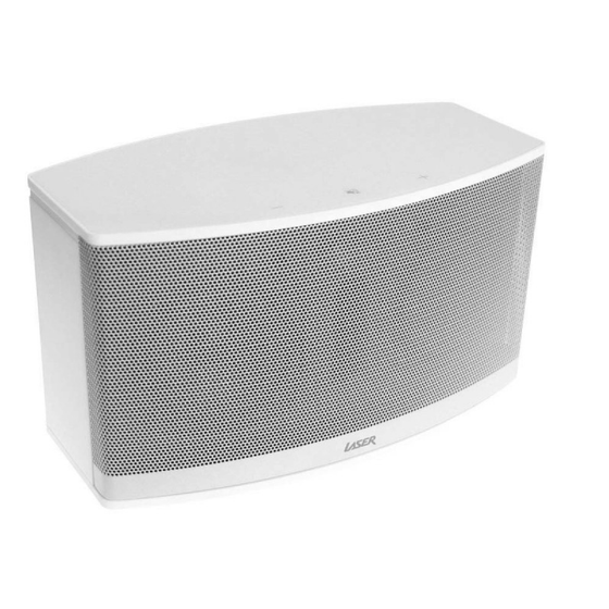 Laser WFQ10 Wi-Fi Multi Room Speaker with Qualcomm Allplay, Spotify, DLNA, 20 watt Stereo