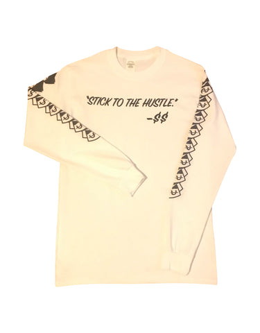 """Stick To The Hustle"" By $$ Long-Sleeve"