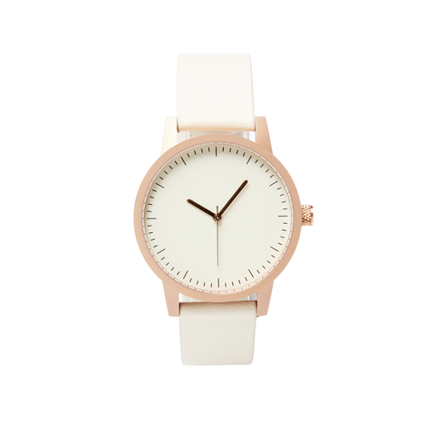 Kent Watch - Gold / White - 38mm