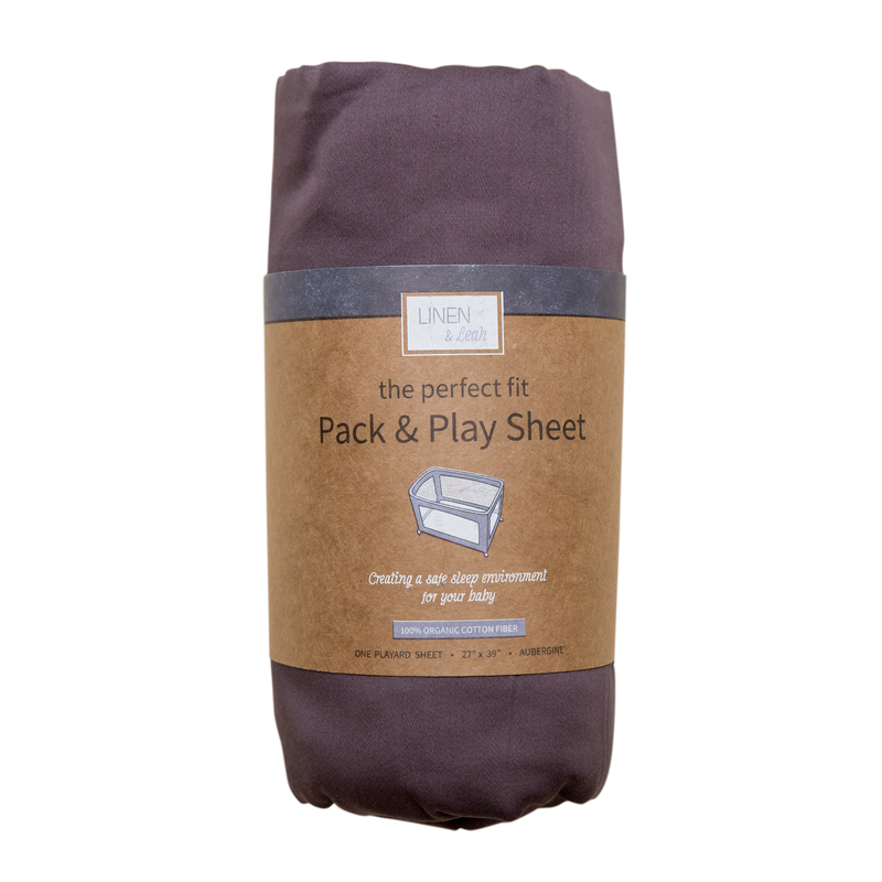 Perfect Fit Pack & Play Sheet - Natural