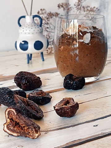 Figgy Chocolate Smoothie