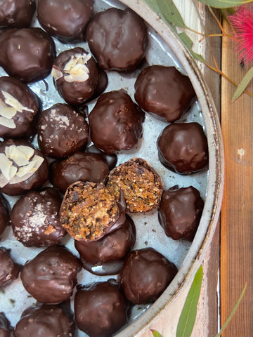 Fig and Almond Protein Balls