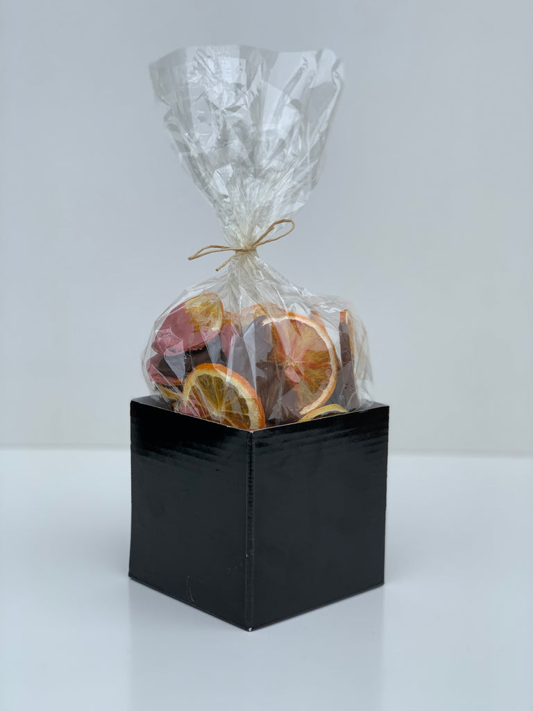 A Winter Giftbox SPECIAL- Chocolate Dipped Citrus with some bonus love (GST incl)