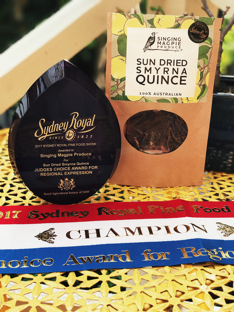 Award Winning Sun Dried Smyrna Quince 250g