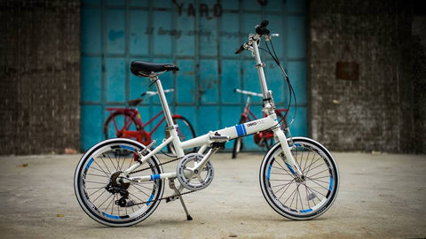 Aerofold foldable bicycle