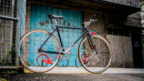 Single speed/fixie FL-01S (Grey)