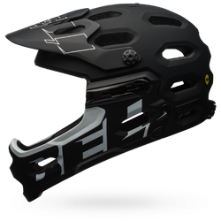 Bell Super 3R MIPS (Matte black/white, M size only)