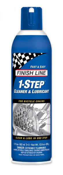 Finish line 1- step cleaner & lube spray 17 oz