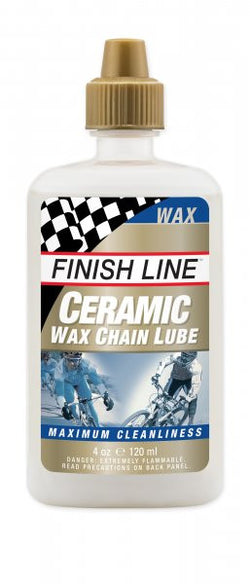Finish line Ceramic wax chain lubricant 4oz