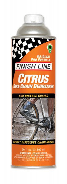 Finish line citrus bike chain degreaser 17oz