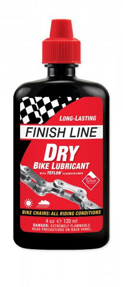 Finish line Dry bike lubricant 4oz