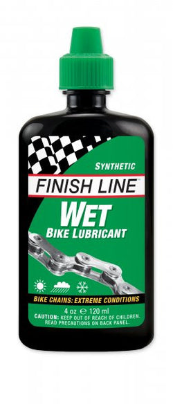 Finish line Synthetic wet bike lubricant 4oz