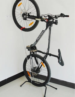 Bike stand for mountain bike