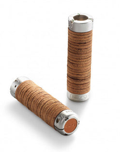 Brooks Plump leather grips (Black/Honey/Brown)