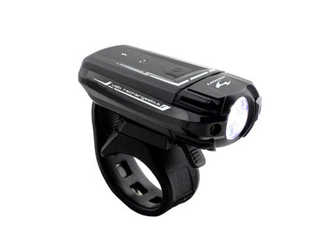 Moon Meteor 250 front LED light