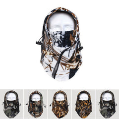 Camo Fleece Full Cover Head Gear