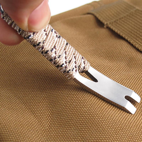EDC Mini Scraper Crowbar/Pry Bar Key chain Multi Tool
