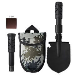 Multifunctional Camping Shovel - Portable Folding Survival Spade Tool