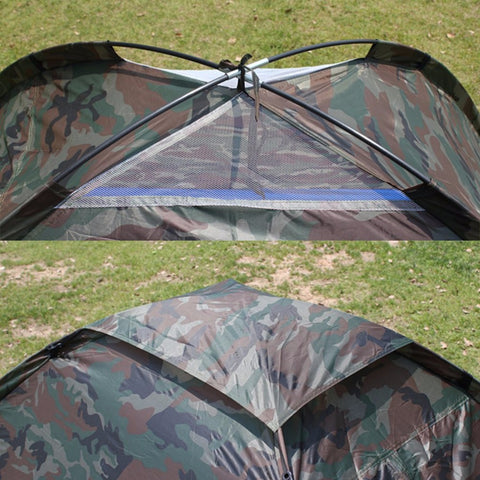 Camouflage 2 Person Tent With Carry Bag