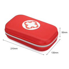 18 Piece First Aid Kit With Case