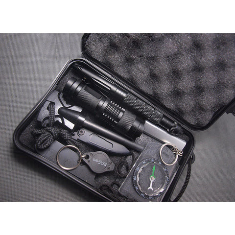 10 in 1 Multi Tool Survival Kit With Portable Storage Case