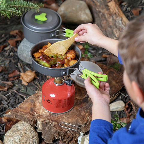 10 Piece Portable Camping Cookware Set