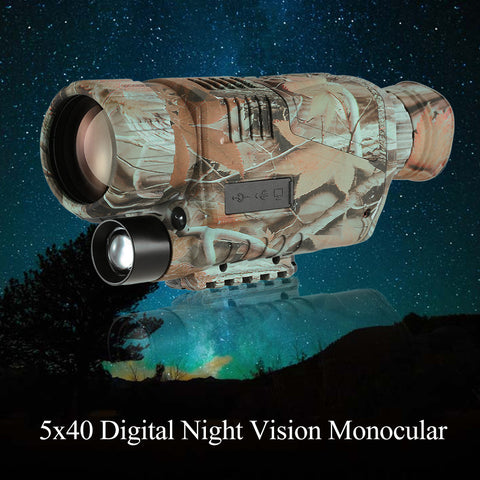 5x40 Multi-functional Digital Night Vision Telescope
