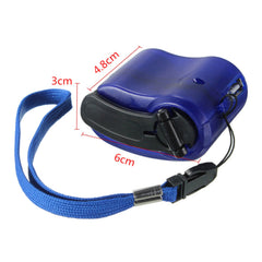 Portable USB Hand Crank Charger