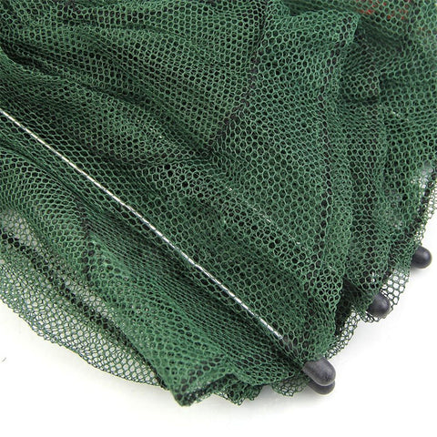 Folded Portable Hexagon Style 6 Hole Mesh Minnow Trap