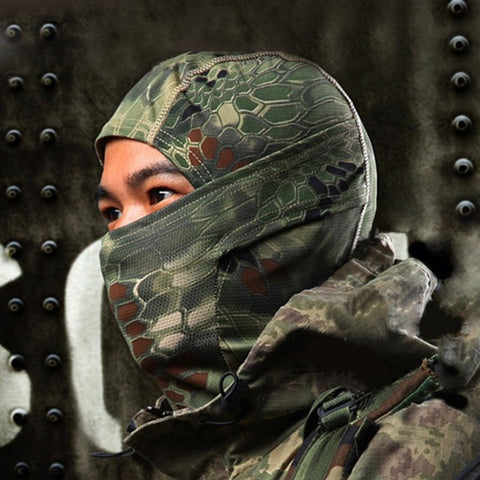 Broadcloth Full Face Mask and Hood Combo