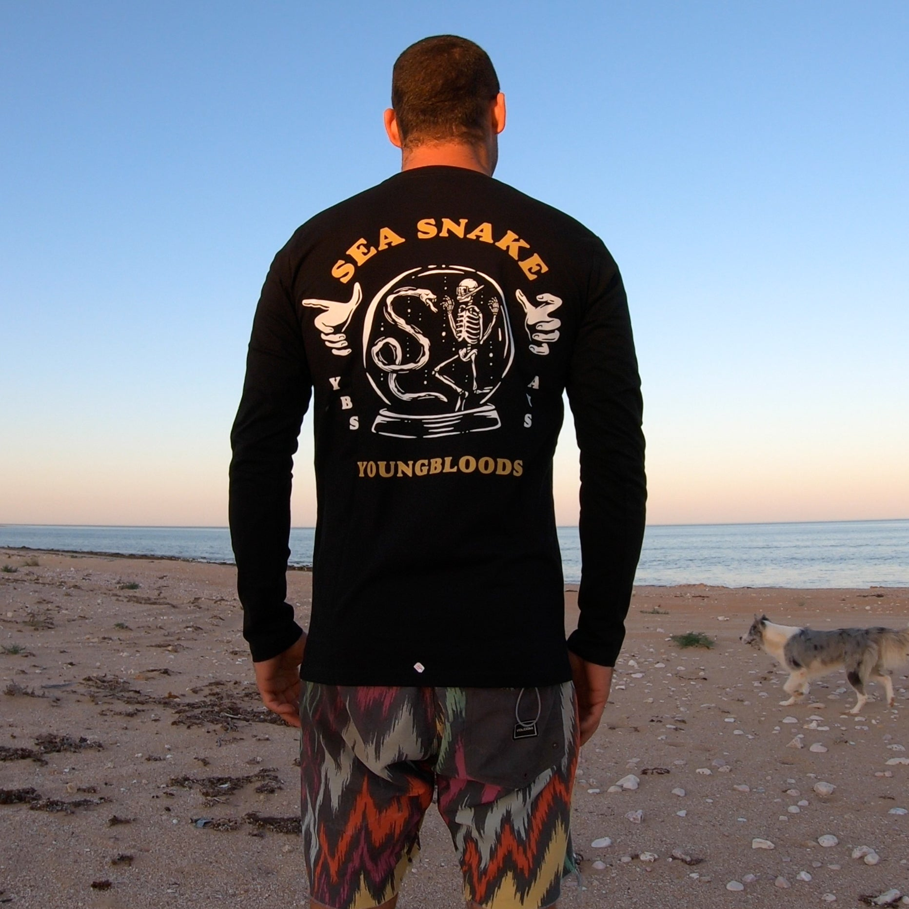 Sea Snake Long Sleeve Tee