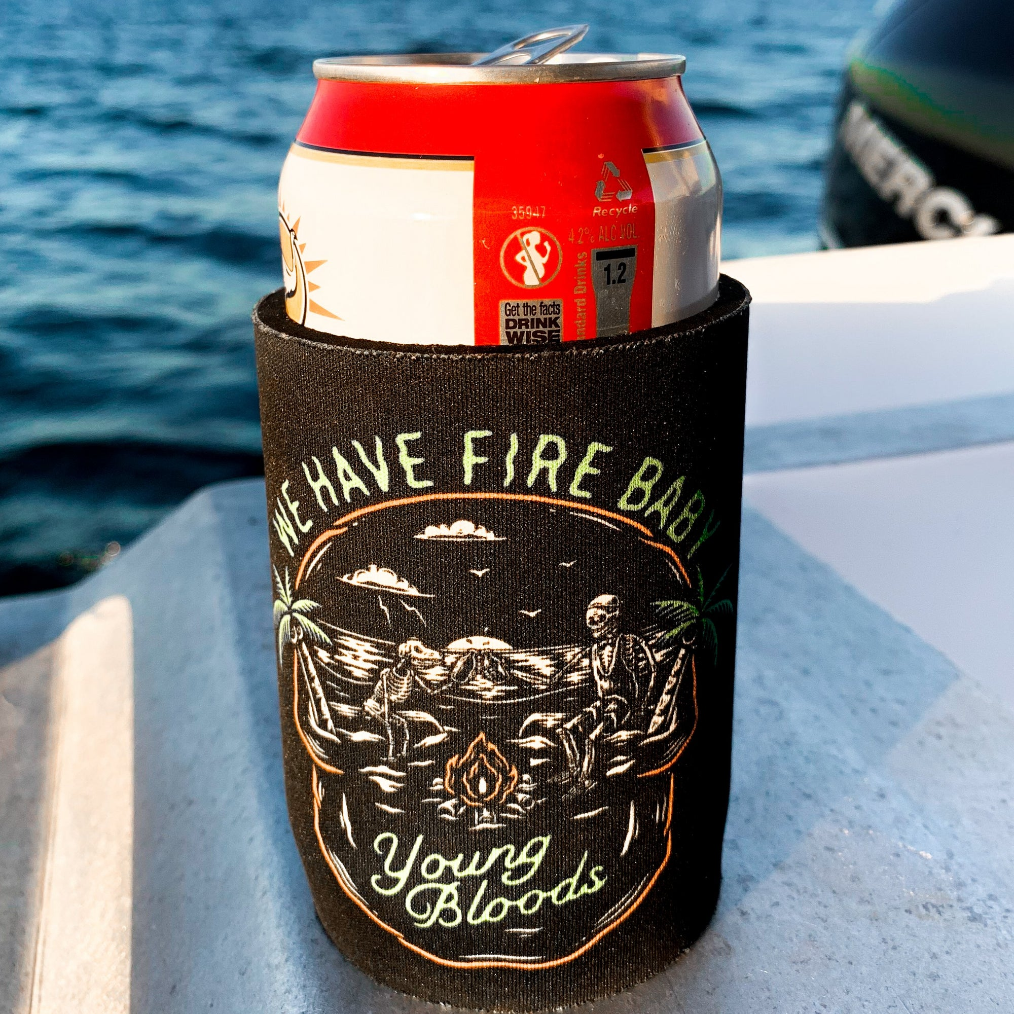 Fire Baby Stubby Holder
