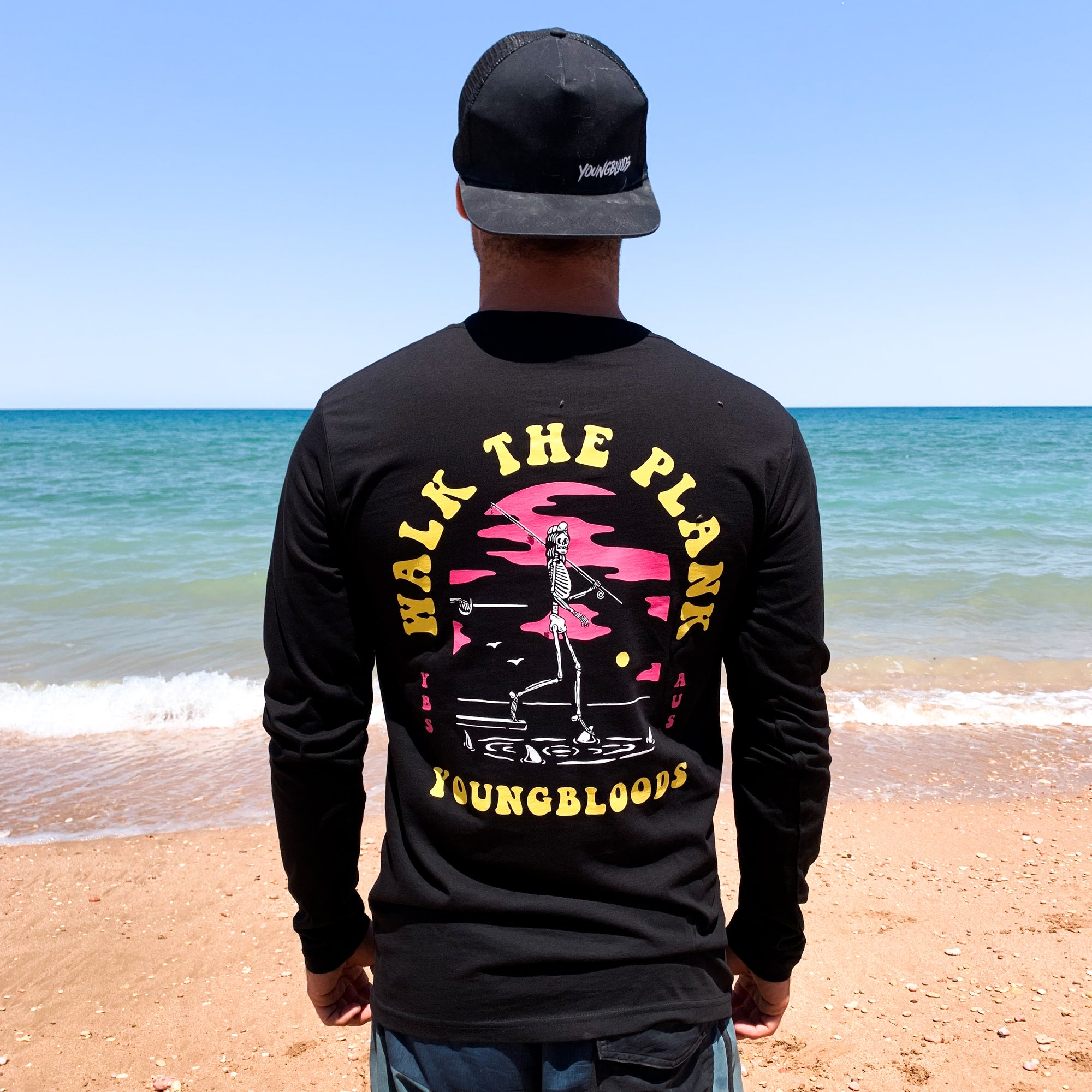 Walk The Plank Long Sleeve - Black