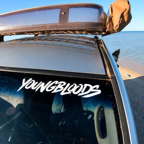 Youngbloods Vinyl Cut Sticker (Medium)